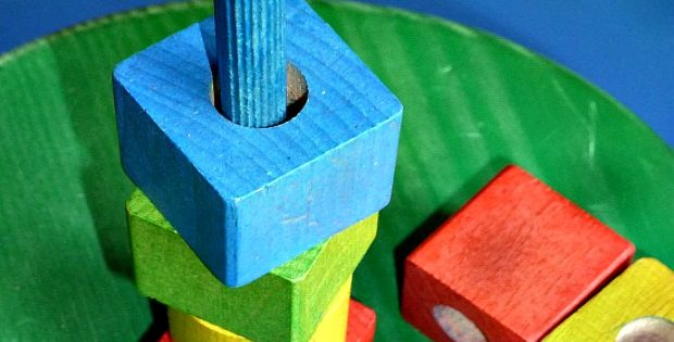 DIY Wooden Blocks Stacking Toy