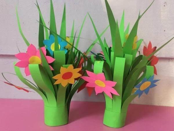 Super Easy DIY Paper Flower Bouquet by Still No More