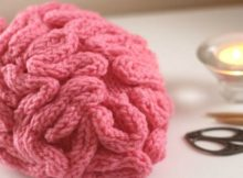 Free Video tutorial For Knitted Brain Hat Pattern