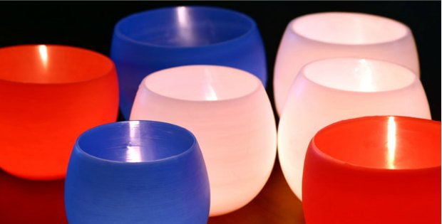 Candle Water balloon luminaries