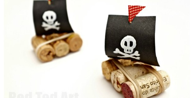 cork pirate boats video