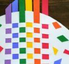Kids Craft Weaving - Colorful Rainbow Weaving Fish