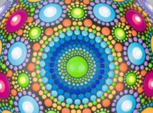 Mandala Rock Painting - Inspiration Video Tutorial.