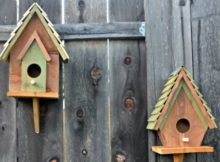 Easy DIY birdhouses for kids. They can help to build and then paint or stain it afterwards.