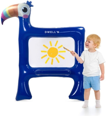 Dwell'n Toucan Giant Inflatable Easel
