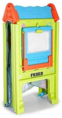 ECR4Kids Deluxe Dry-Erase Art Easel with Light-Up Tracing Desk for Kids