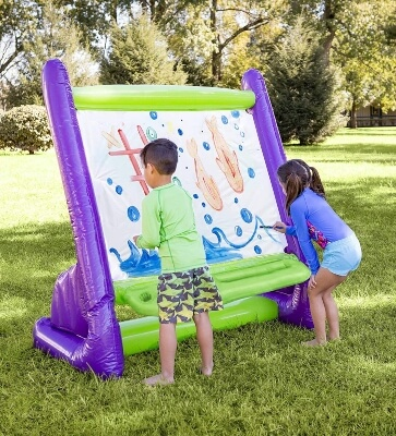 HearthSong Giant Inflatable Indoor and Outdoor Easel
