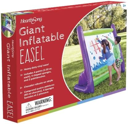 HearthSong Giant Inflatable Outdoor Easel