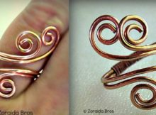 DIY Metal Ring - Adjustable Spiral Ring Tutorial