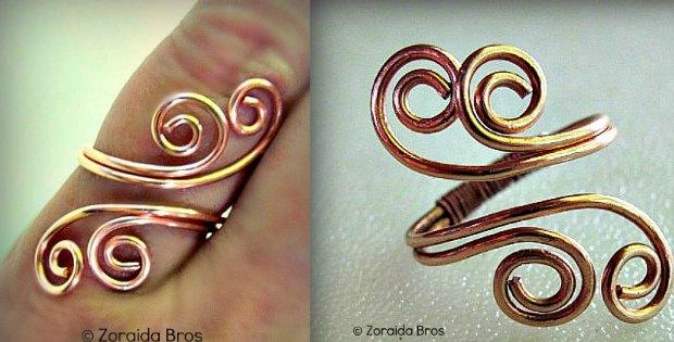DIY Metal Ring - Adjustable Spiral Ring Tutorial