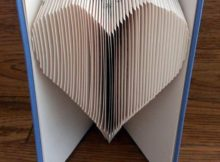 Book Folding Patterns Free Download Heart Pattern