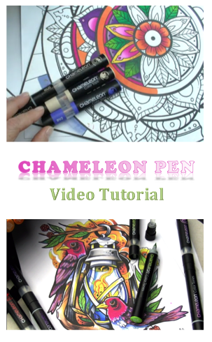 Chameleon Pens - Video Tutorials kids crafts adult coloring adult crafts arts and crafts