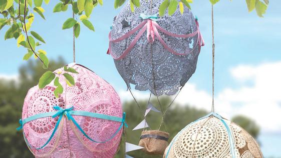 DIY Hot Air Balloon Craft