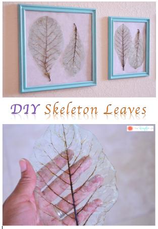 DIY Skelton Leaves Turorial