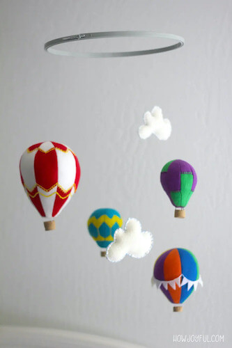 DIY Hot Air Balloon Mobile by How Joyful