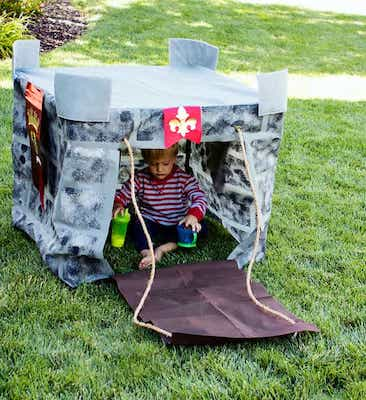 How To Make A Play Castle Tutorial by Fleece Fun