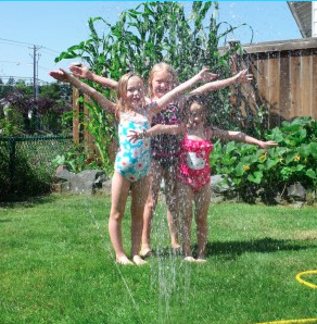 Kids DIY Lawn Sprinkler Fun Summer Craft