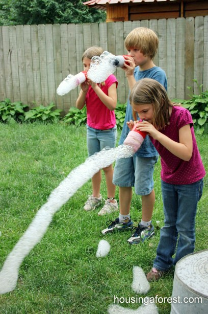 Rainbow Bubbles Snake - Recipe and Instructions