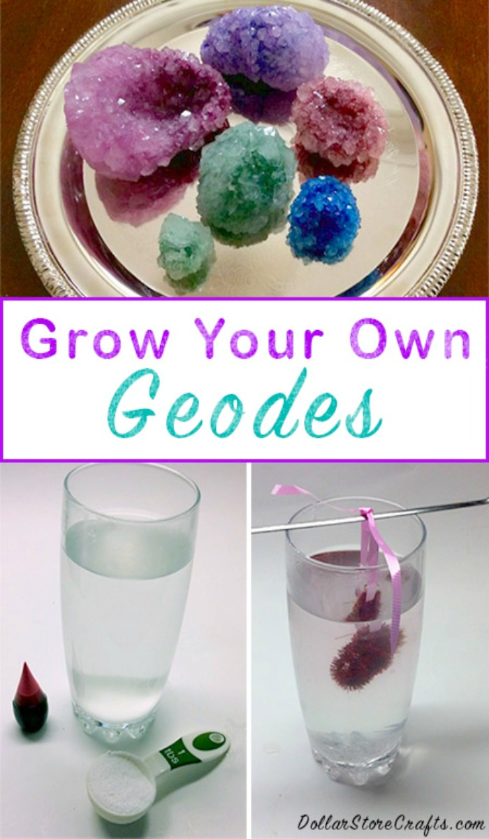 How To Grow Crystals In Your Own Home For Under $5