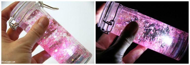 glowing fairy bottle