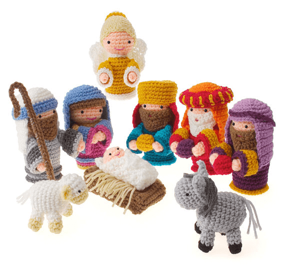 Christmas Crochet Nativity Scene Amigurumi Pattern