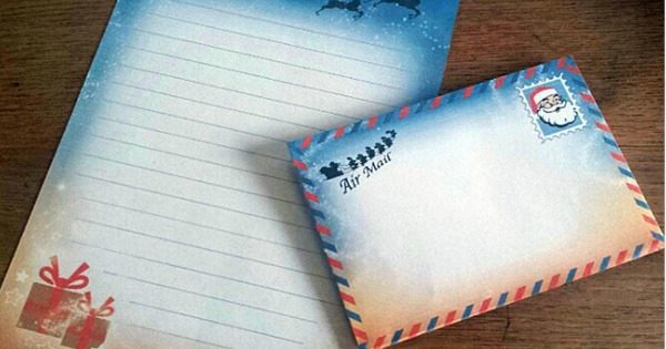 Write A Letter To Santa With This Free Template With Envelope