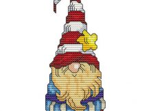 Christmas Elves Cross Stitch Pattern - Christmas Crafts