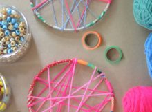 DIY Dreamcatcher For Kids - Kids Crafts