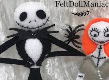 DIY Halloween Dolls - Felt Pattern