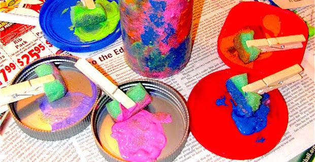 How To Make A Simple Kaleidoscope - DIY Kids Crafts