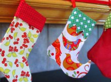 Sew Christmas Stocking Pattern - Christmas Crafts
