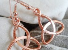 DIY Jewellery - Wire Celtic Knot Tutorial