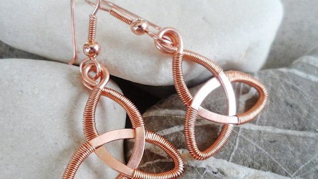 DIY Jewellery - Wire Celtic Knot Tutorial