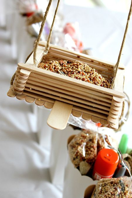 DIY Kids Bird Feeder