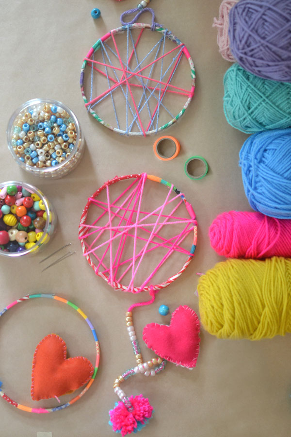DIY Dreamcatcher For Kids School Holiday Summer Activities Gorgeous Making Dream Catchers With Kids