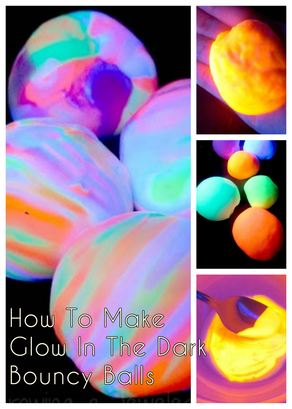 Image result for kids planet glow in the dark  bouncy ball craft