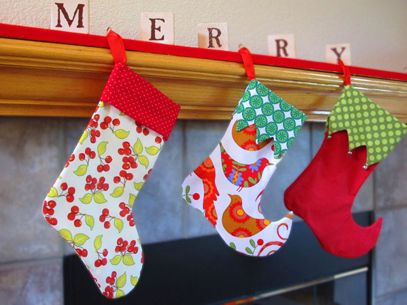 Sew Christmas Stocking Pattern - Christmas Crafts
