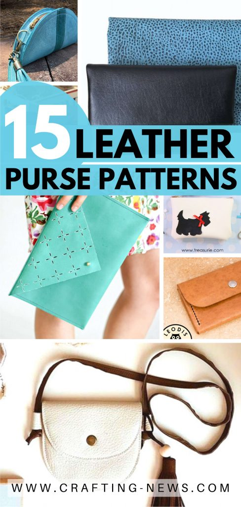 15 Leather Purse Patterns