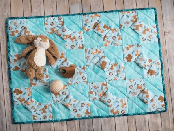 3D Bow Tie Quilt Pattern by Teresa Clementz