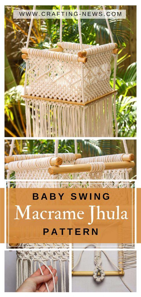 Baby Swing Macrame Jhula Pattern