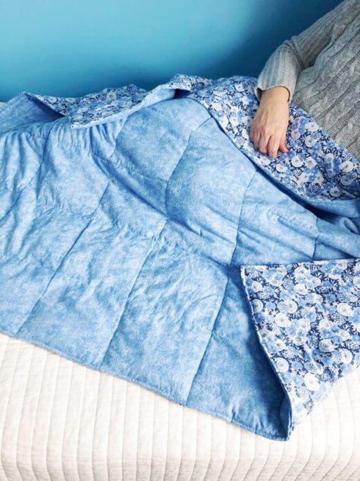 How to make a weighted blanket for anxiety
