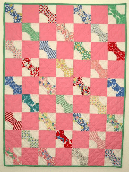 Baby Bow Tie Quilt Pattern by Moda Fabrics