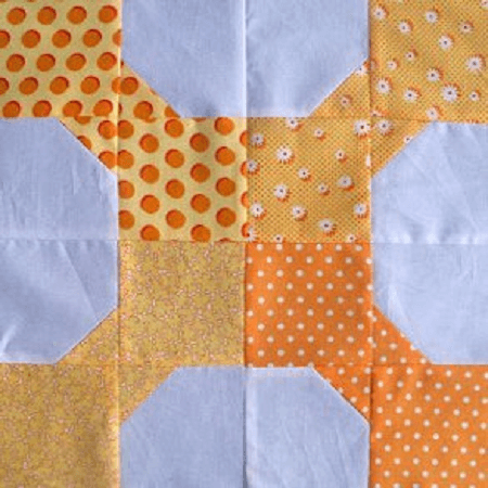 Bow Tie Party Block Quilt Pattern by Leila Gardunia