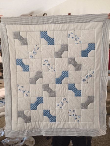 Bowtie Baby Quilt Pattern by Sister Of The Divide