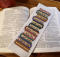 Cross Stitch Bookmark Pattern by Rogue Stitchery