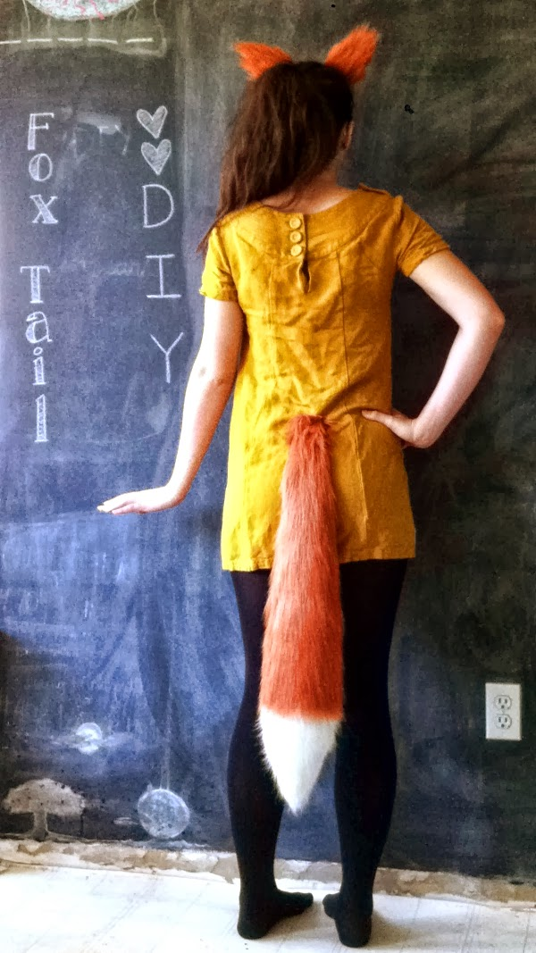 how to make a fox tail costume how to make a tail for a costume