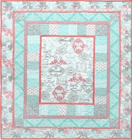 Just Married Quilt Pattern by Marinda Stewart