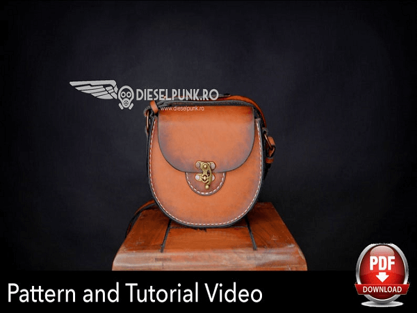 Ladies Leather Purse Pattern by Diesel Punk Ro