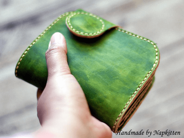 Leather Coin Purse Pattern by Napkitten Pattern