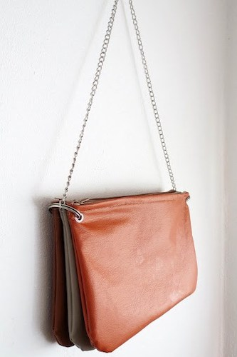 Leather Purse Pattern by Ohoh Deco